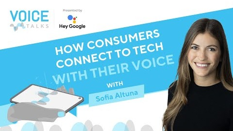 How Consumers Connect to Tech with Voice
